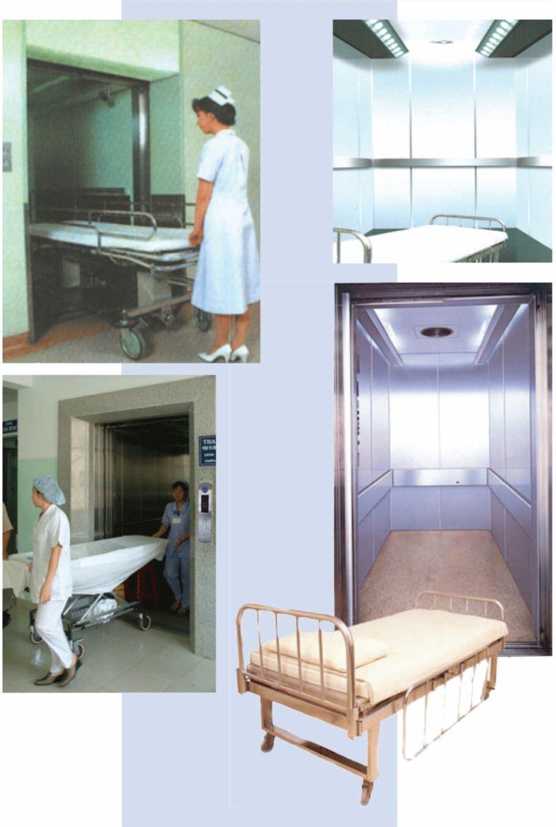 thang máy trong bệnh viện
